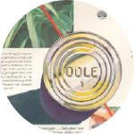 DOLE brand starts appearing on cans of pineapple and pineapple juice