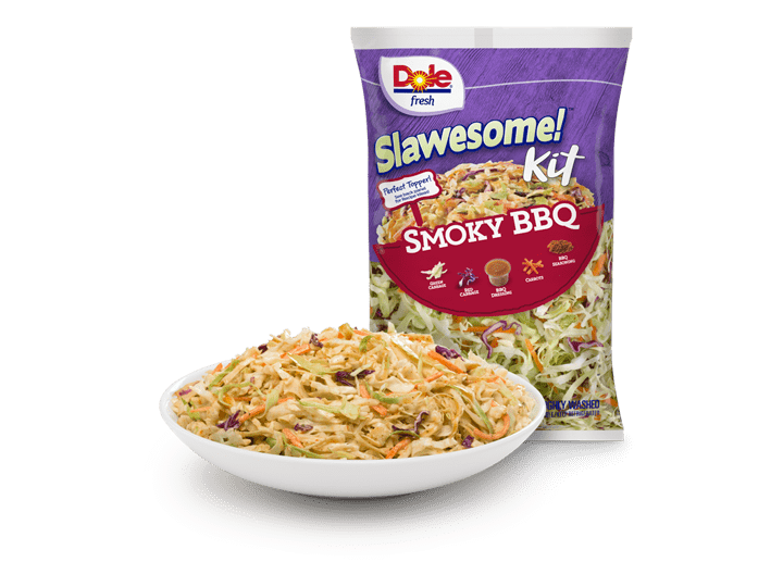 Dole Salad Smoky BBQ Slawesome! Kit