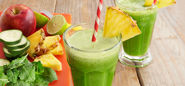 Ananas green smoothie