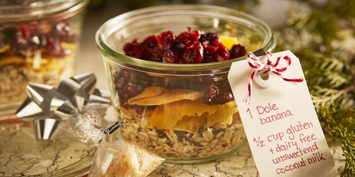 Tropical Cranberry Overnight Oats